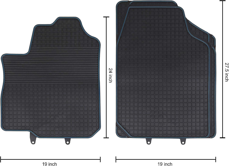 Flexible Rubber Black CARTMAN Car Floor Mat