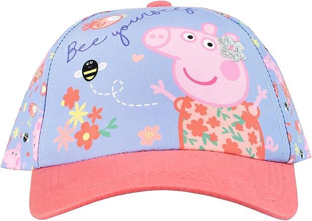 Peppa Pig Gorra para niñas Talla única: Amazon.es: Ropa y accesorios