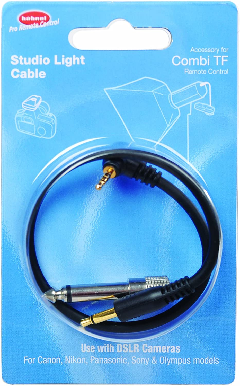 Hahnel Studio Light Cable for Combi TF Wireless Remote Control and Flash Trigger