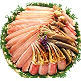 面倒な 肩肉なし のプレミアム品 超特大&超極太サイズ 限定 カット 生 ズワイガニ 1kg(総重量1.3kg)約4人前  ※かにしゃぶ・かに鍋はもちろんカニ刺もOK …