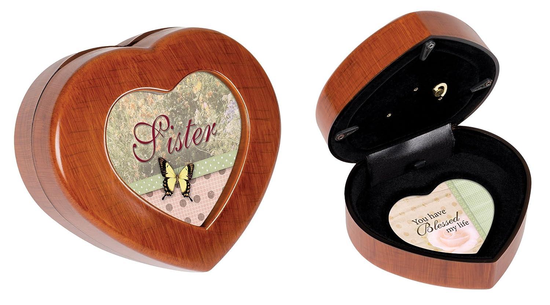 【最安値挑戦】 Cottage Garden Garden Sister Box Woodgrain/ Petite Heart Music Box/ Jewelry Box Plays Wind Beneath Wings by Cottage Garden B00BRXAYP0, 株式会社ミヤタコーポレーション:5ad2452e --- arcego.dominiotemporario.com