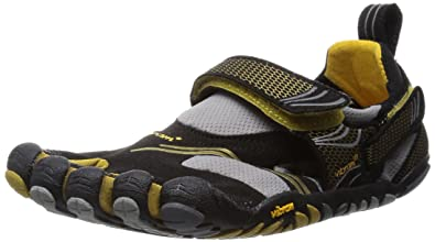 separation shoes d1734 42a80 Vibram Women s Fivefingers KomodoSport Blk Gold Grey 39
