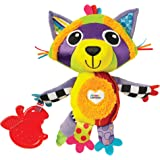 Lamaze Rylie Racoon Clip On Pram and Pushchair Baby Toy LC27566 Multi Color