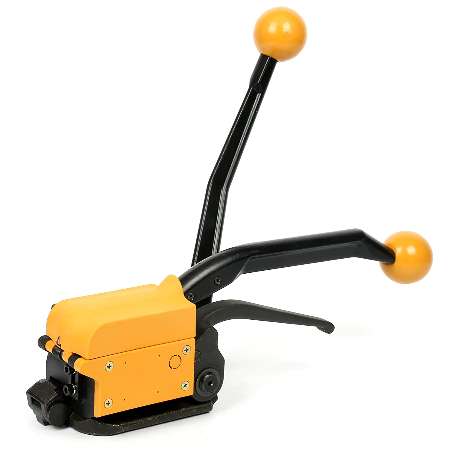 Yaetek Steel Strapping Tool A333 Manual Strapping Tool 1//2Inch 5//8Inch 3//4Inch Steel Straps Banding Sealless Combination Tool
