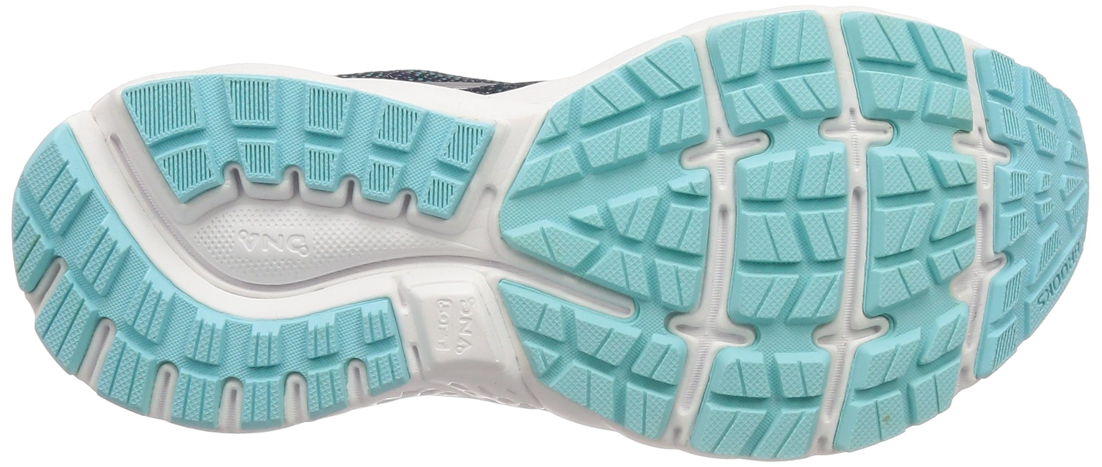 Brooks Womens Ghost 11 Running Shoe - Navy/Grey/Blue - D - 5.5 by Brooks (Image #3)