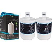 2x FilterLogic FFL-150L Filtro de agua compatible para LG 5231JA2002A - 5231JA2002A-S - LT500P - ADQ72910901 para frigorífico - Premium Filter
