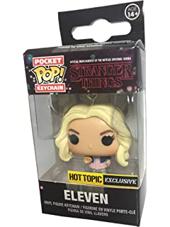Amazon.com: Funko Pop Keychain Stranger Things Eleven with ...