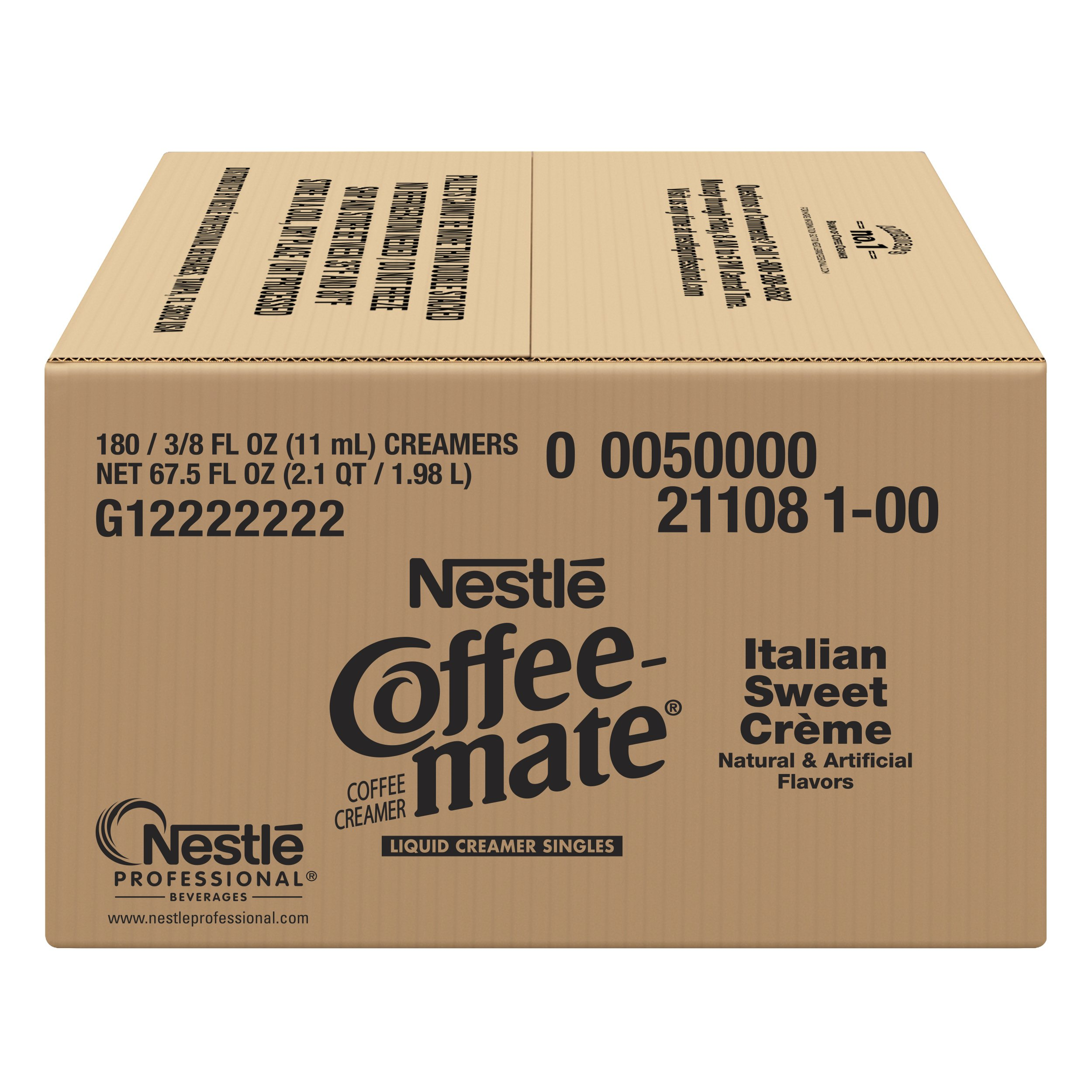 Nestle Coffee-mate Coffee Creamer, Italian Sweet Crème, liquid creamer singles, 180 Count (Pack of 1) by Nestle Coffee Mate (Image #4)
