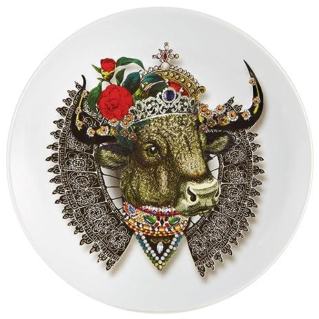 VISTA ALEGRE x CHRISTIAN LACROIX - Monseigneur Bull Dessert Plate  sc 1 st  Amazon.com & Amazon.com | VISTA ALEGRE x CHRISTIAN LACROIX - Monseigneur Bull ...