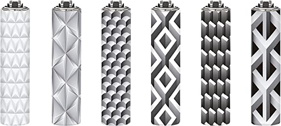 Clipper 73, Metal Covers Volumen – Mini colección, pack de 6 encendedores: Amazon.es: Hogar