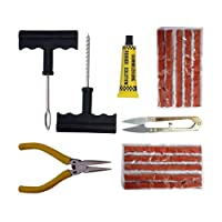 amiciAuto ® Tubeless Tyre Puncture Repair Kit