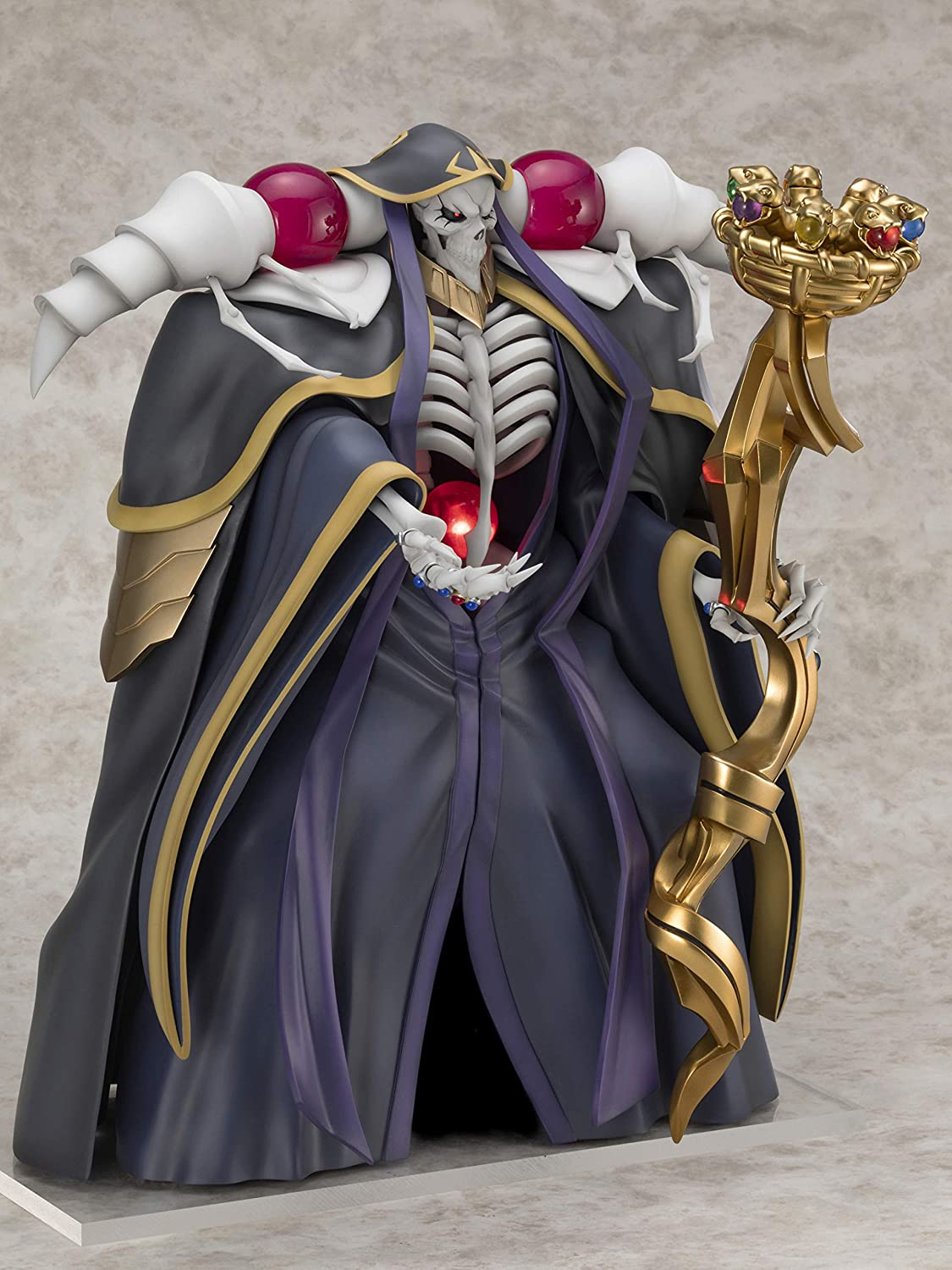 Multicolor Ainz Ooal Gown 1 Furyu Overlord 7 Scale PVC Figure