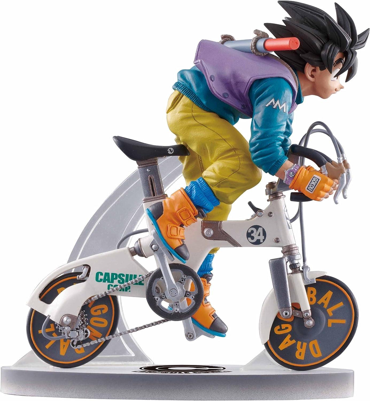 Amazon Com Megahouse Dragonball Z Son Goku Real Mccoy Desktop Statue Toys Games