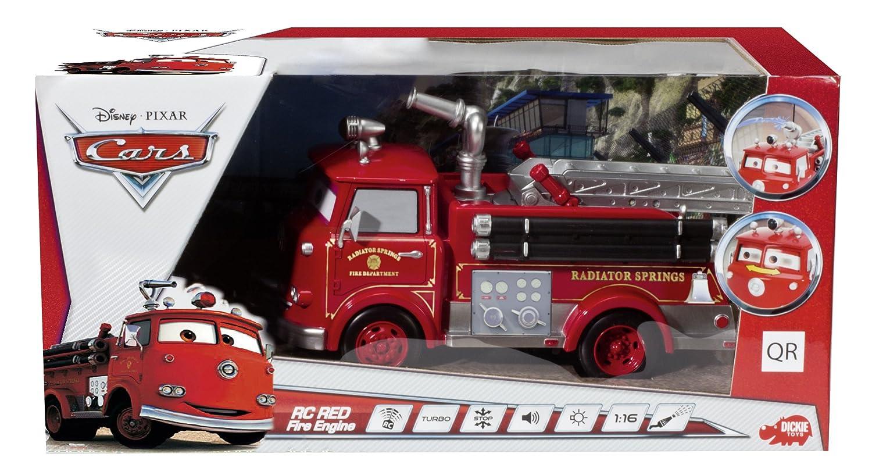 camion pompier radiocommand cars red fire de majorette. Black Bedroom Furniture Sets. Home Design Ideas