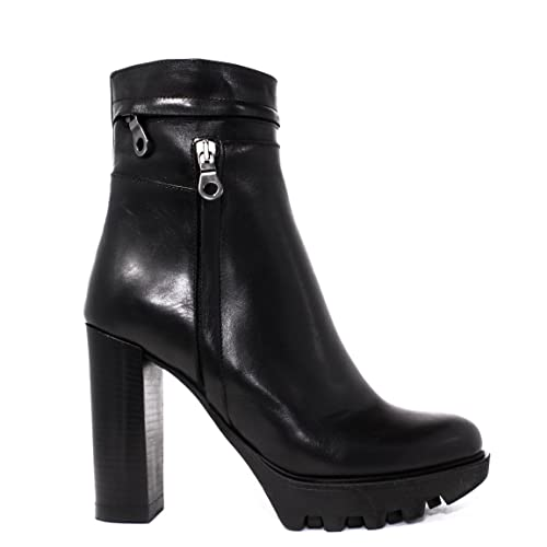 impicci Botines France Hinge High Heel Mujer st899 Vitt Invierno 2015 - 2016 en Italia New Collection 15/16 AW, color Negro, talla 35 EU: Amazon.es: Zapatos ...