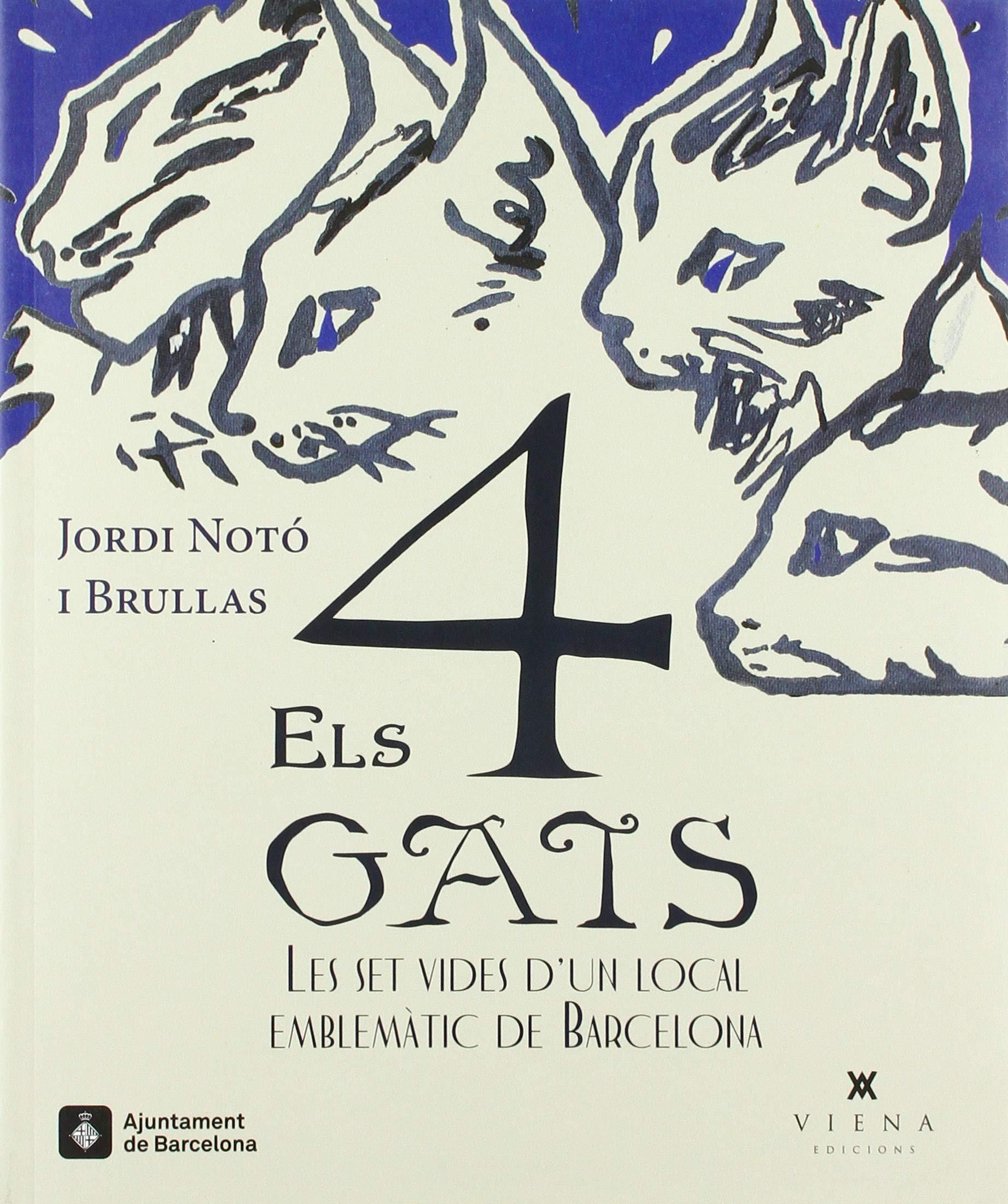 Els quatre gats: Les set vides dun local emblemàtic de Barcelona: 8 Calidoscopi: Amazon.es: Notó i Brullas, Jordi, Ainaud Escudero, Joan Francesc, Arxiu familiar Notó Brullas: Libros