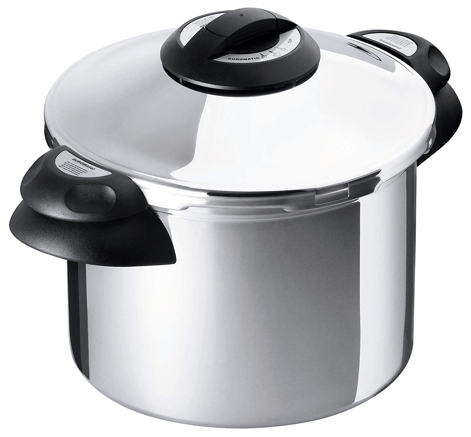 Kuhn Rikon Duromatic Top Pressure Cooker with Side Handle, Ø 24 cm, 6 L, 3762
