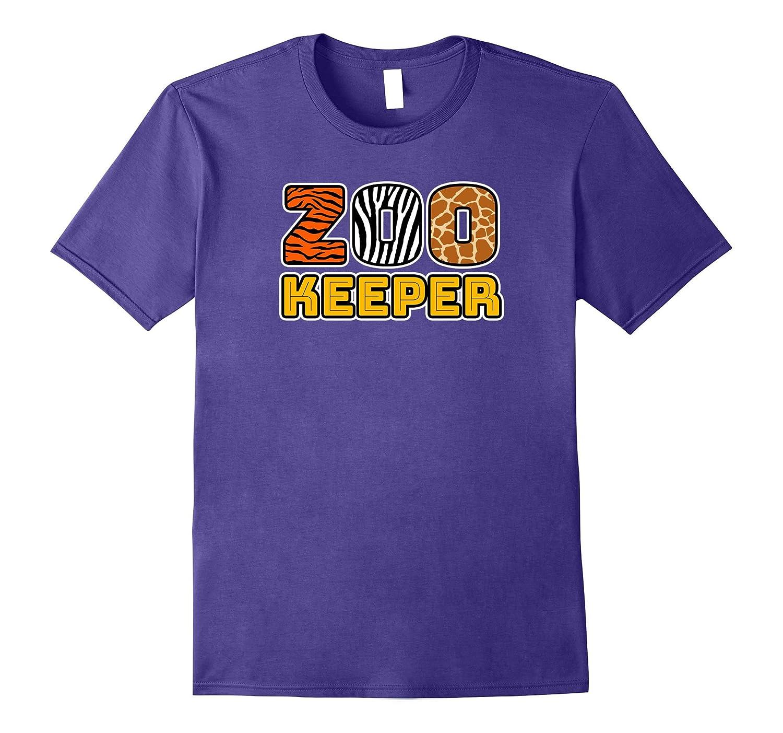 Zookeeper | African Savannah Animal Pattern Print T-shirt-FL