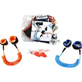 Toddler Harness Walking Leash- Child Anti Lost Wrist Link - Child Safety Harness - 2 Pack (4.9ft & 8.2ft)- Child Safety Wrist