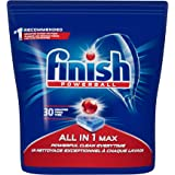Tabletes Detergente Para Lava-Louças Finish Powerball, 30 Tabletes