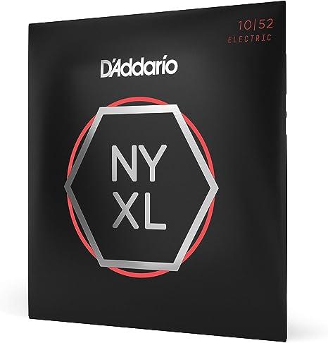 DAddario NYXL1052 - Juego de cuerdas para guitarra eléctrica, 10 ...