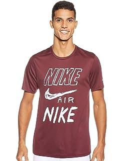 Nike Air Max - Camiseta de manga corta y cuello redondo, para ...