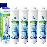 4x AquaHouse UIFS Filtre d'eau compatible pour réfrigérateur Samsung DA29-10105J HAFEX / EXP WSF-100 Aqua-Pure Plus (filtre externe uniquement)