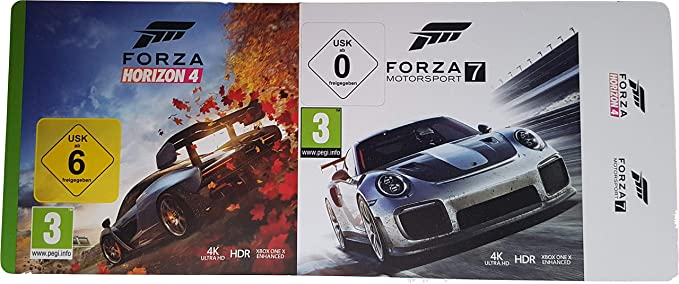 Xbox One X Forza Horizon 4 and Forza Motorsport 7 Download
