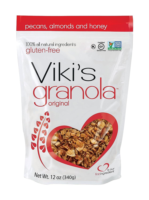 Viki's Granola Original, Gluten Free, Non-GMO, 12-ounce bag