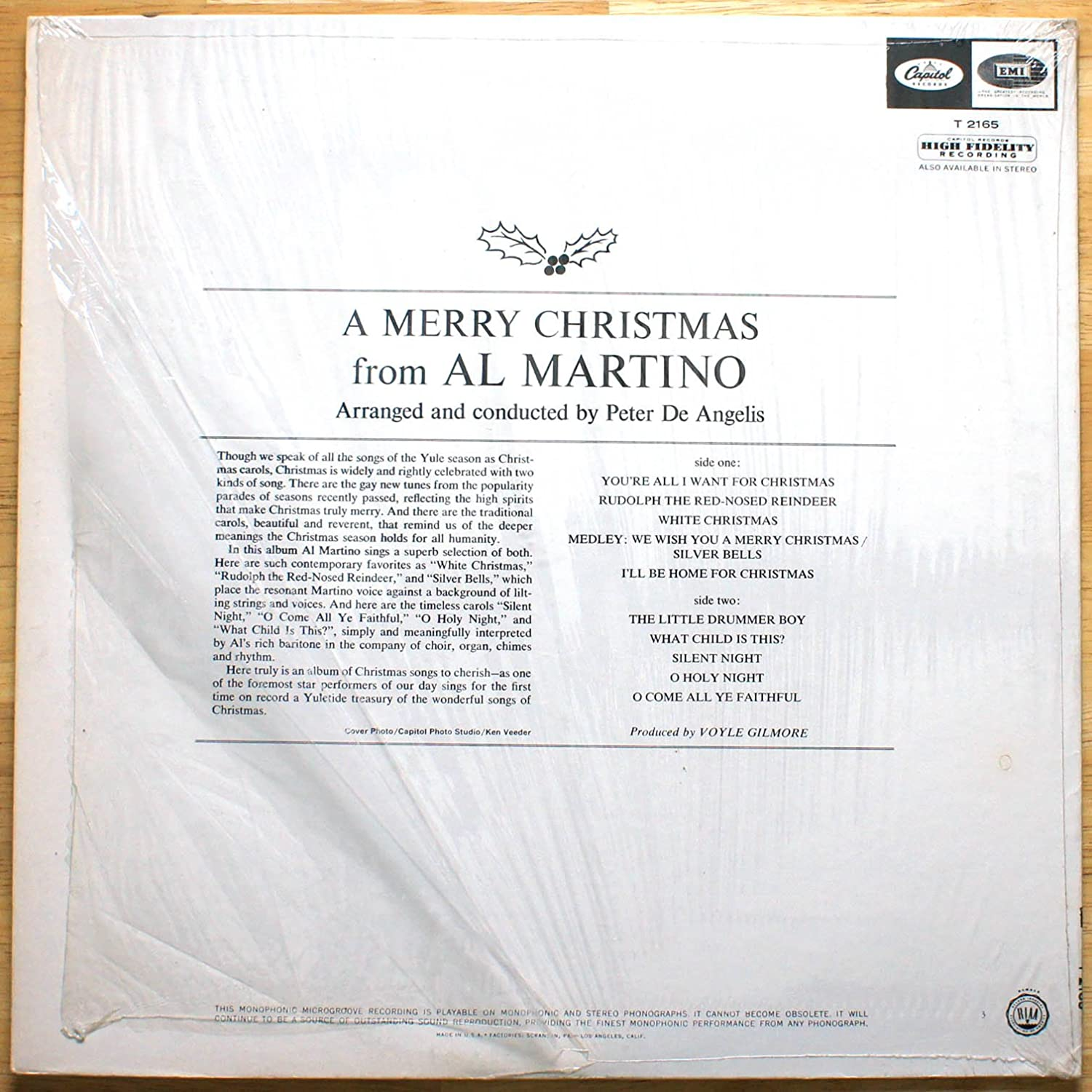 Al Martino - A Merry Christmas - Amazon.com Music