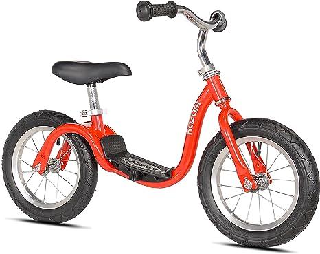 KaZAM - Bicicleta de equilibrio sin pedales, color rojo (KZM15RD ...