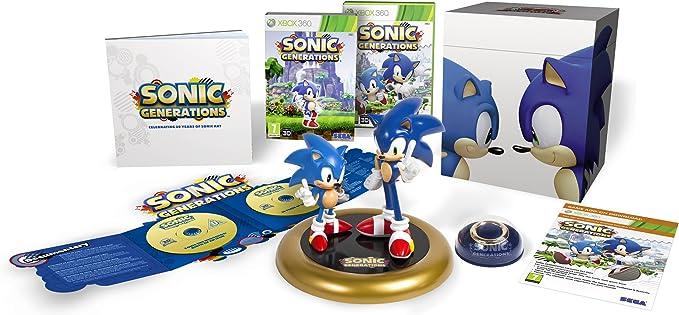 Sonic Generations - Collectors Edition (Xbox 360) [Importación Inglesa]: Amazon.es: Videojuegos