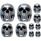 Sticker Autocollant Planche Skull 3D 29x34cm