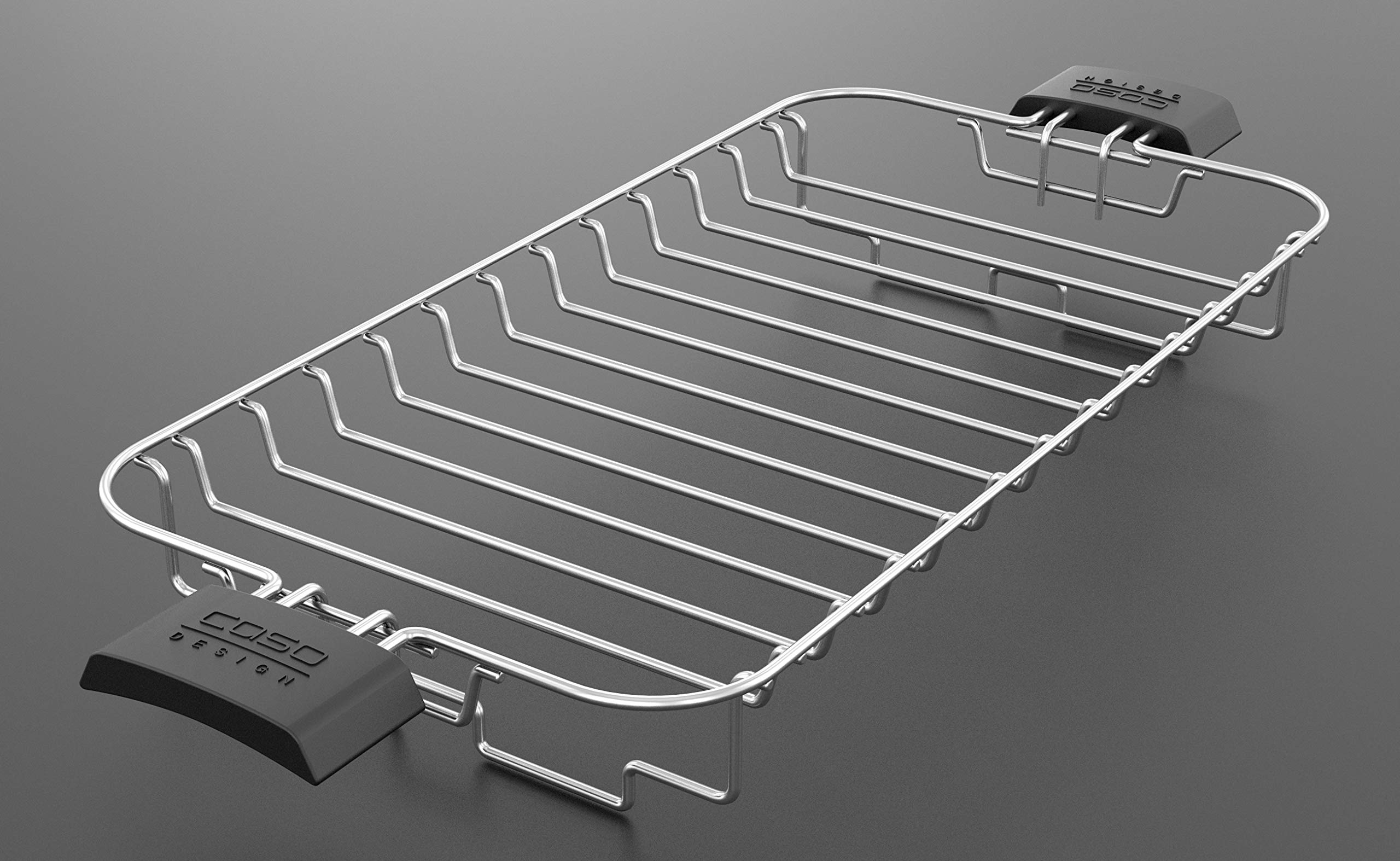 Caso Design INOX.4 Four-Slice Toaster with Wire Warming Basket Attachment, 4, Stainless by Caso Design (Image #12)