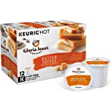 Gloria Jean's Butter Toffee Keurig Single-Serve K-Cup Pods, Medium Roast Coffee, 6.15 oz, 72 Count (6 Boxes of 12 Pods) ( Packaging May Vary )