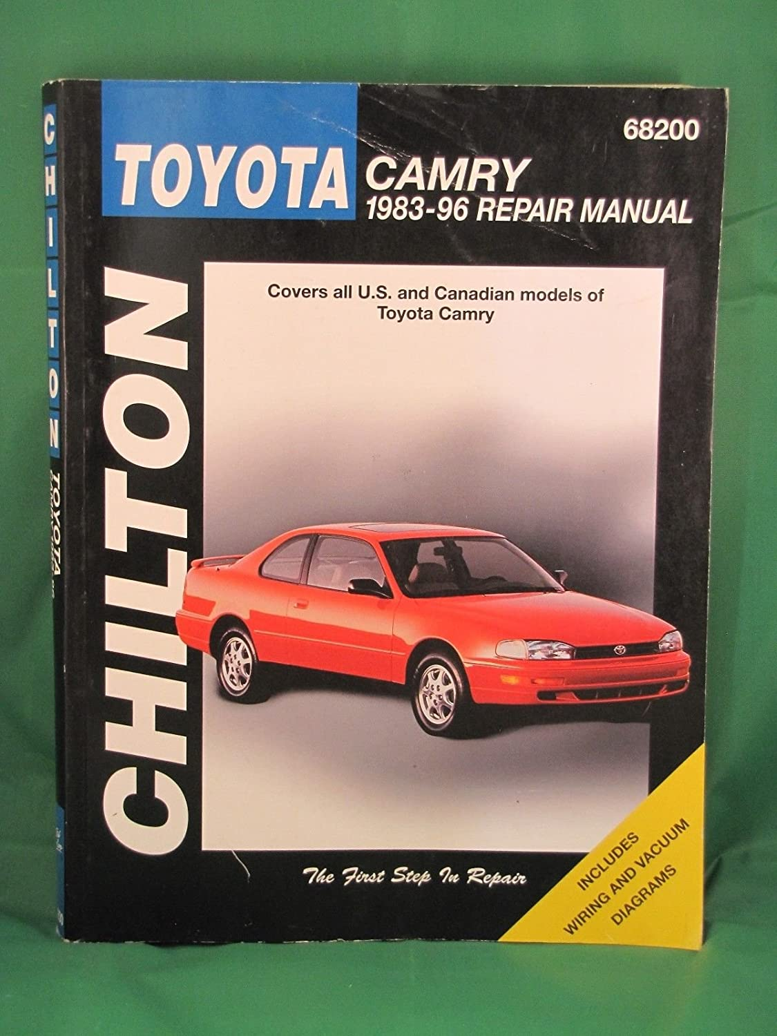 Amazon.com : 1983-96 Chilton Repair Manual - Toyota Camry - #68200 :  Everything Else