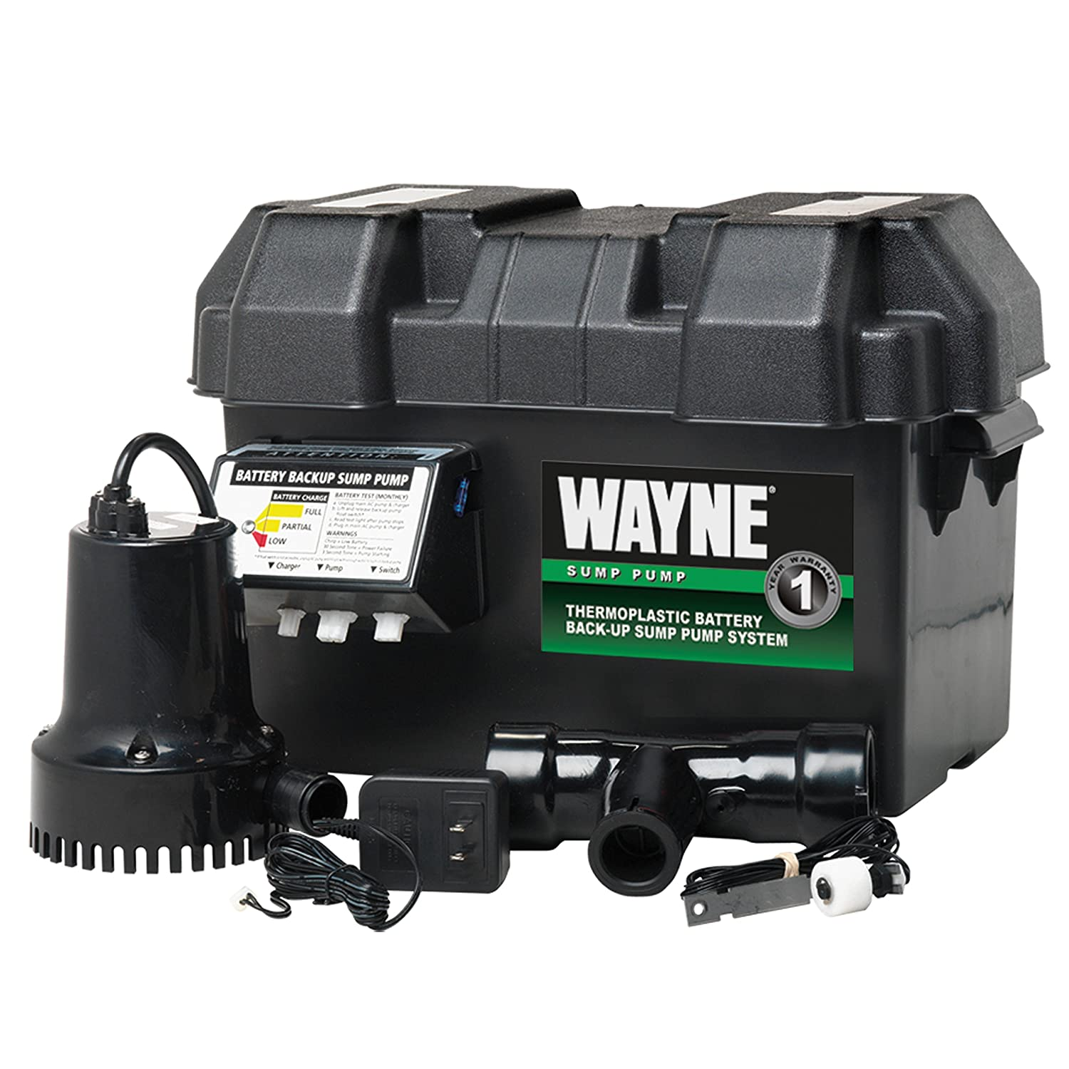 wayne esp15 battery back up 12 volt sump pump system amazon com  sump pump battery backup wiring diagram free picture #8