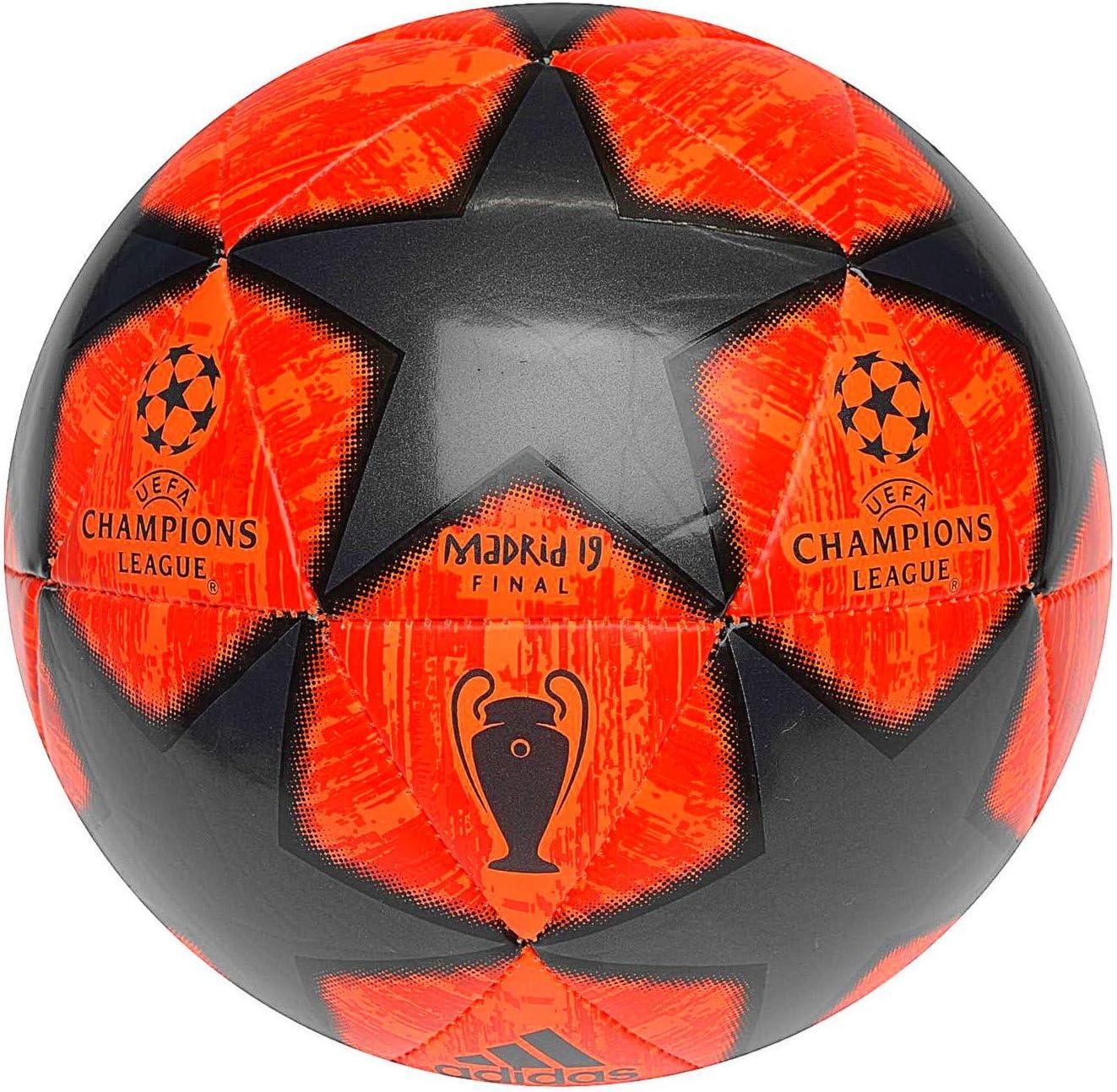 adidas Champions League 2019 Balón de Fútbol, Hombre (Naranja Solar/Final Champions League) Tamaño 5: Amazon.es: Deportes y aire libre