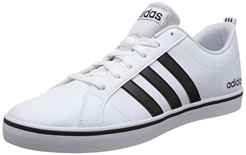 adidas Originals Vs Pace, Zapatillas para Hombre, Blanco (Footwear White/Core Black/Blue 0), 47 1/3 EU: Amazon.es: Zapatos y complementos