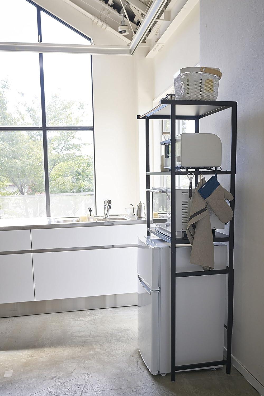 Amazon.com: Estante negro en el refrigerador de la torre ...