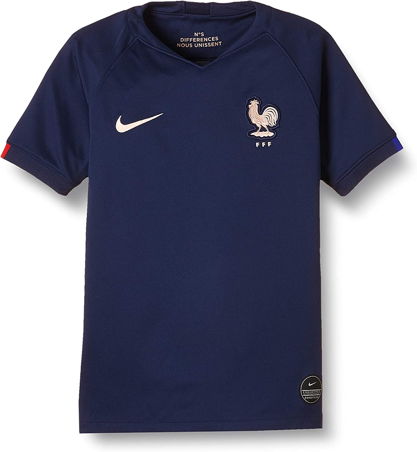 Nike Youth Soccer France Home Jersey