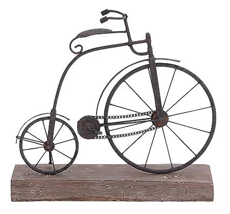 Deco 79 Metal Madera para Bicicleta, 16 por 14 Pulgadas: Amazon.es: Hogar