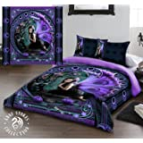 NAIAD Double Bed Duvet and Pillowcase Bed Linen Set Artwork by Anne Stokes by Wild Star@Home