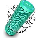 Zamkol Bluetooth Speakers, Bluetooth Speakers Portable WirelessV4.2 with Powerful 24W with 360° Bass Sound, TWS, 15H Playtime