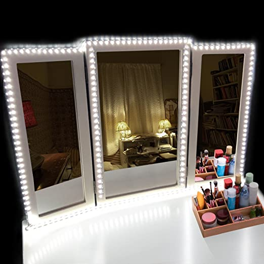 Led Vanity Mirror Lights Kithowisacc 13ft Flexible Led Light Strip