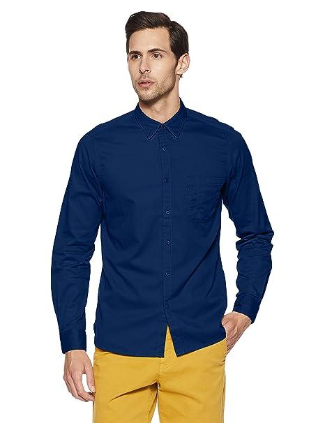 79f37da814 Pepe Jeans Men s Casual Shirt (8907557313718 PIMW200098 Denim XX-Large)