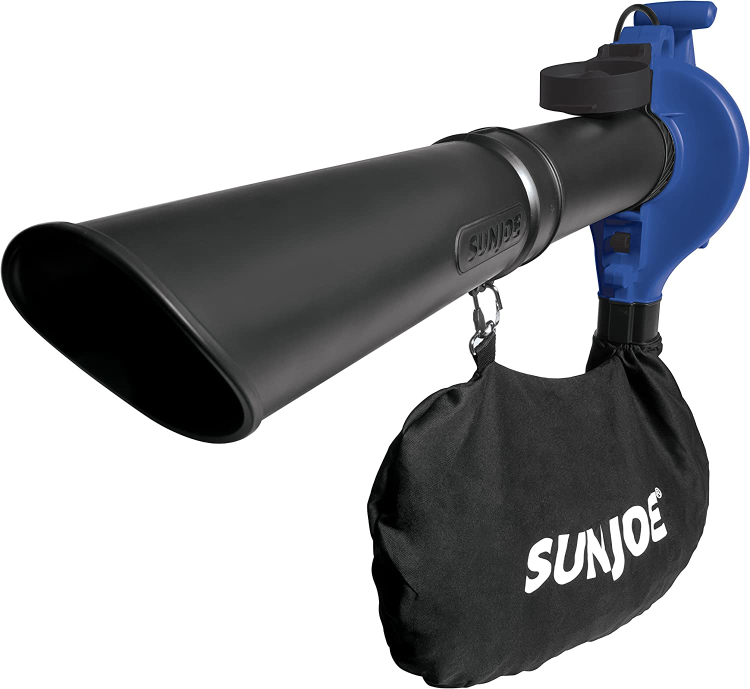 Sun Joe SBJ603E-SJB 13-Amp 240 MPH 3-in-1 Electric Blower/Mulcher/Vacuum, Dark Blue