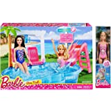 Barbie Glam Pool Playset with Bonus Beach Doll!