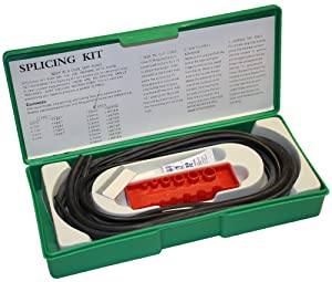 Small Parts - KIT-SPL-MN70 Buna-N O-Ring Splicing Kit, 70A Durometer, Black, Metric Sizes, 9 Pieces, 1 Meter Each