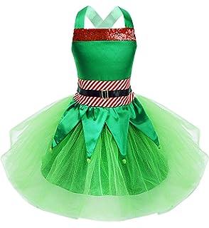 Amazon.com: Winying - Disfraz de hada navideña para niñas ...